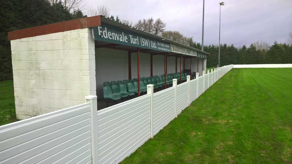 safe football ptich barriers