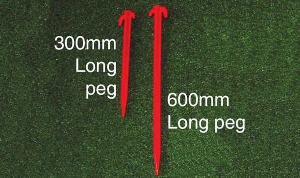 GOALPOST SAFETY GROUND PEG - LONG