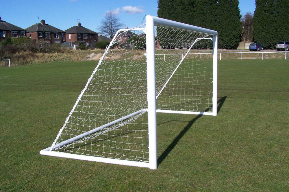 ALUMINIUM FOLDING GOAL - ELLIPTICAL -  12 x 6