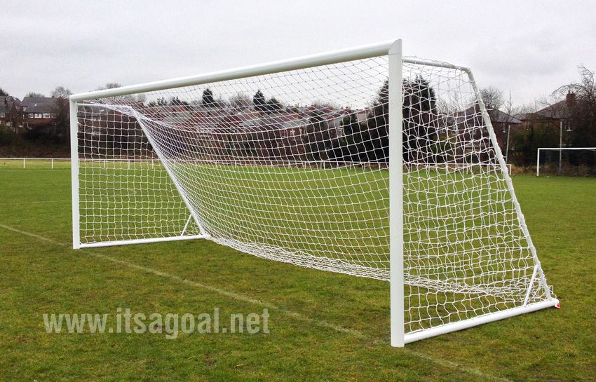 Aluminium Folding Goal post - Elliptical Foldaway goal - 24 x 8