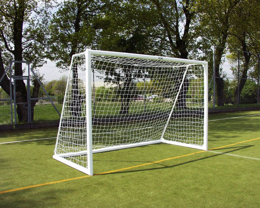 FOLDING FUTSAL GOAL- ALUMINIUM - PAIR OF GOALS - 3M X 2M