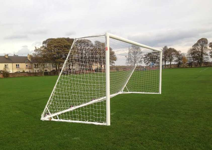 Aluminum Goalpost - free standing and demountable