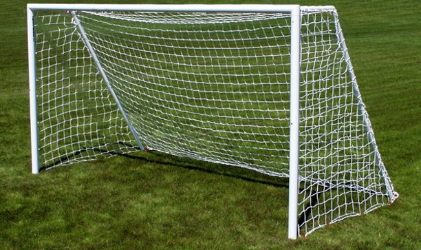 Portable Mini-Soccer Goal - will fit in a carry bag - 12 x 6