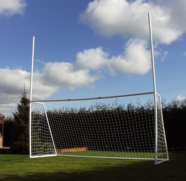 Combination Football Goal 16'x7' Goal - with 8' top posts