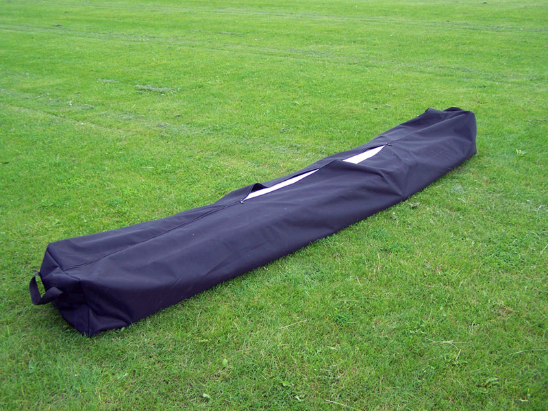 FOOTBALL GOAL BAG  - BLACK   2.8M LONG