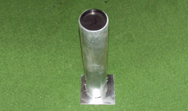 FOOTBALL GOAL - STEEL GROUND SOCKET