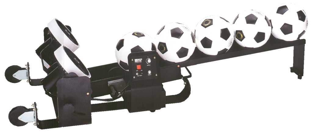 Football Launching Machine - Tutor Pro | Soccertackle.com Rolling Soccer Ball