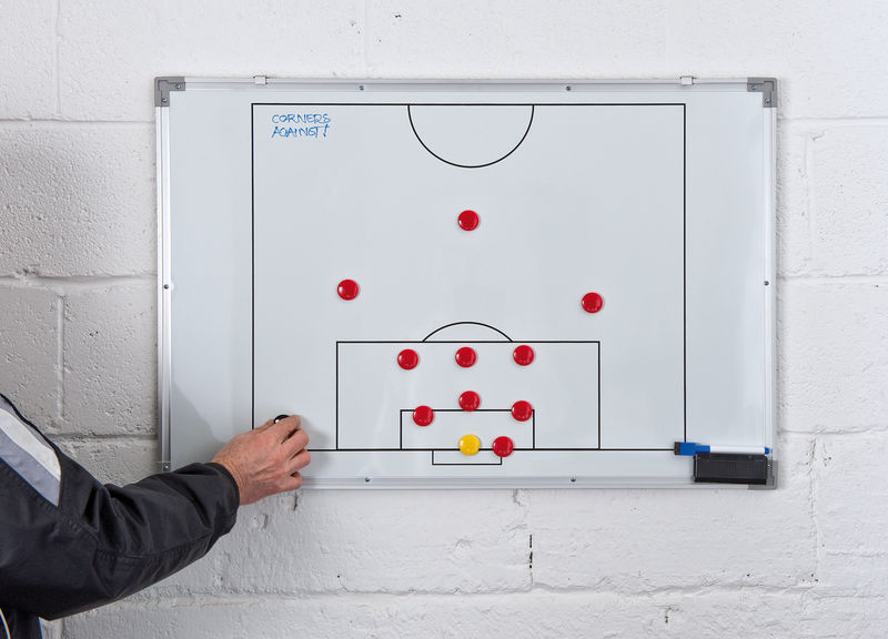 Football Tactic boards - PT Double-Sided Soccer Tactics Board 60x90cm