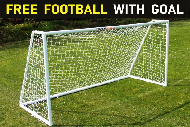 GARDEN FOOTBALL GOAL 12 x 6  MATCH FOOTIE GOAL