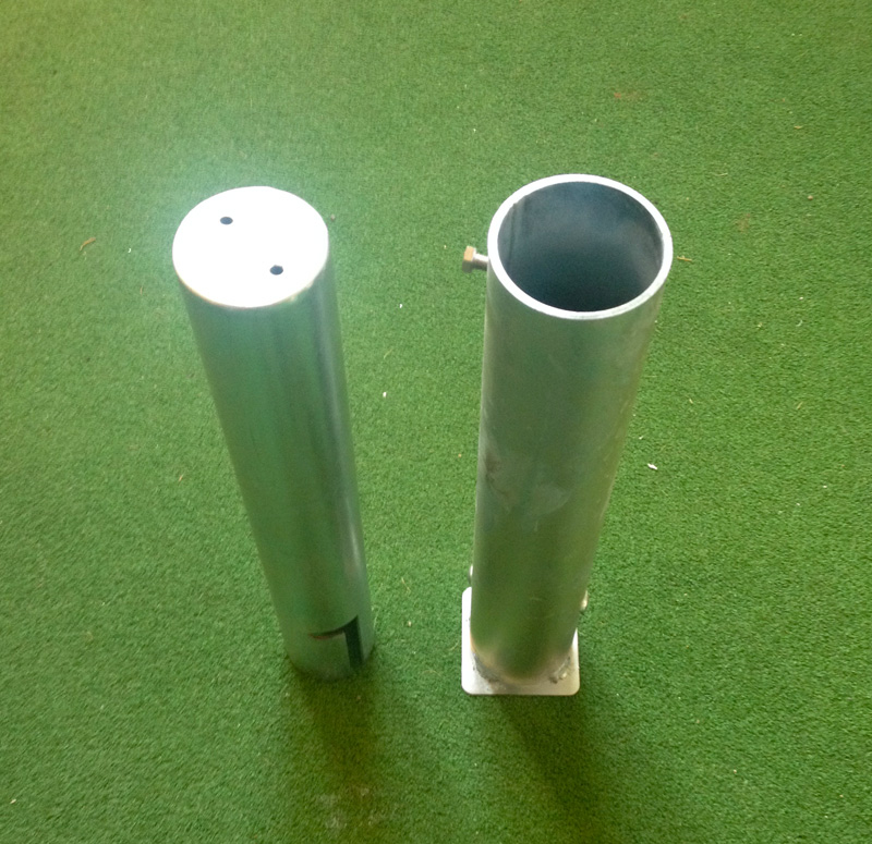 Goalpost ground socket Locking Plug