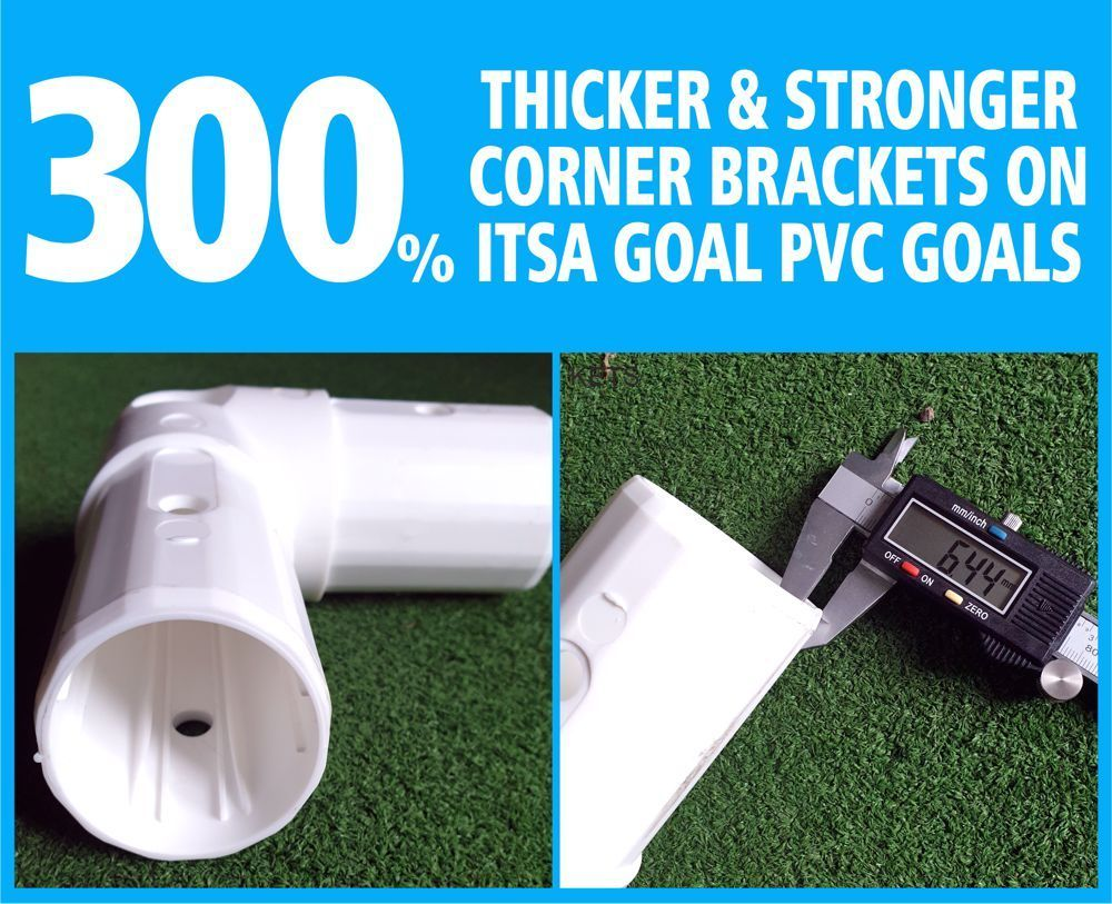 ITSA GOAL CORNER BRACKET - WITHOUT SPIGOT