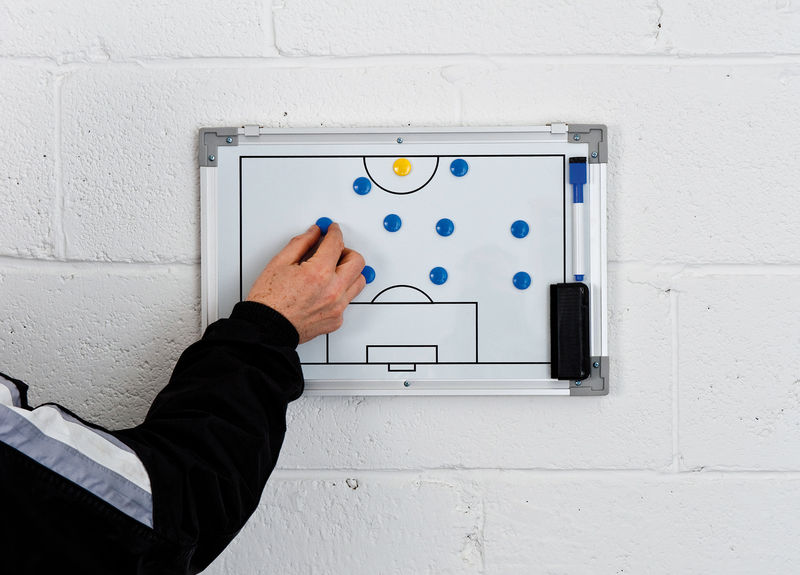 PT Double-Sided Soccer Tactics Board 30x45cm