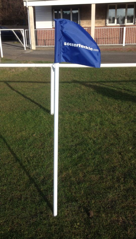 Set of Four 1.8m Adult Corner Flags and Poles