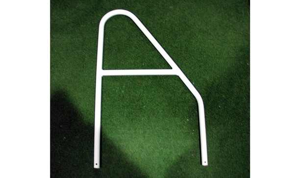 SET OF LIGHTWEIGHT ALUMINIUM GOAL POST NET SUPPORTS