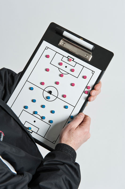 SOCCER COACH - DOUBLE SIDED CLIPBOARD