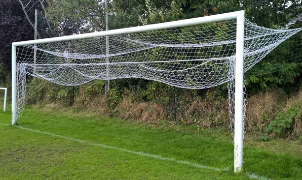 Stadium Goalpost fold up net retainer (steel)