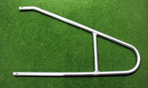 STEEL NET SUPPORTS FOR FIXED POSITION GOALS - LARGE