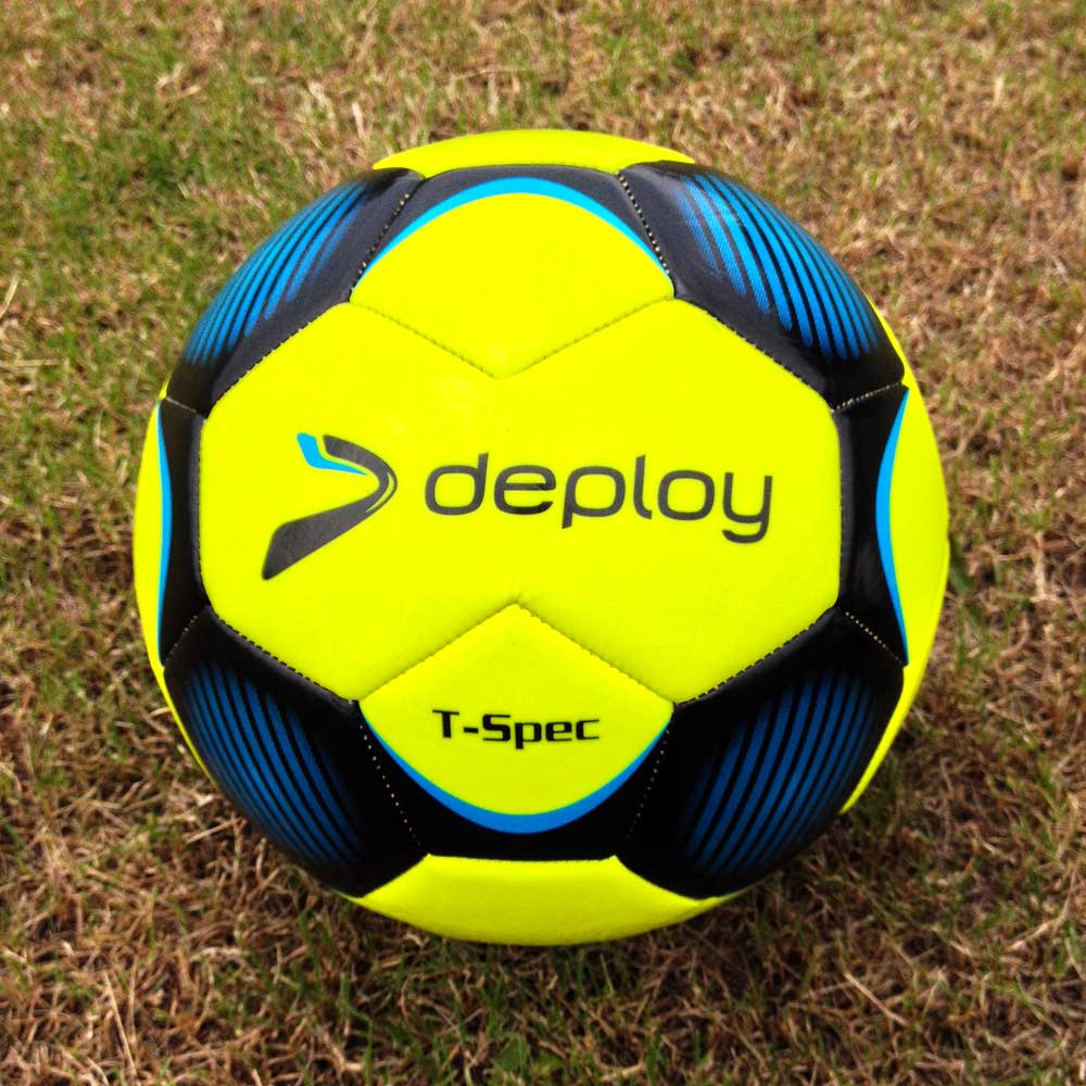 Training Football Ball  - Deploy T- Spec  Size 4 Training Ball