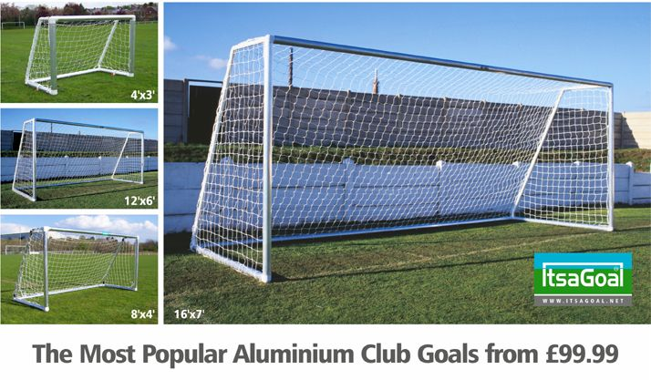 Plastic football goals