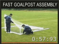 FAST GOALPOST ASSEMBLY