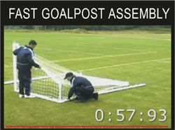 MINI SOCCER GOAL ASSMEBLY