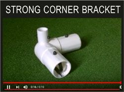 MINI SOCCER CORNER BRACKET